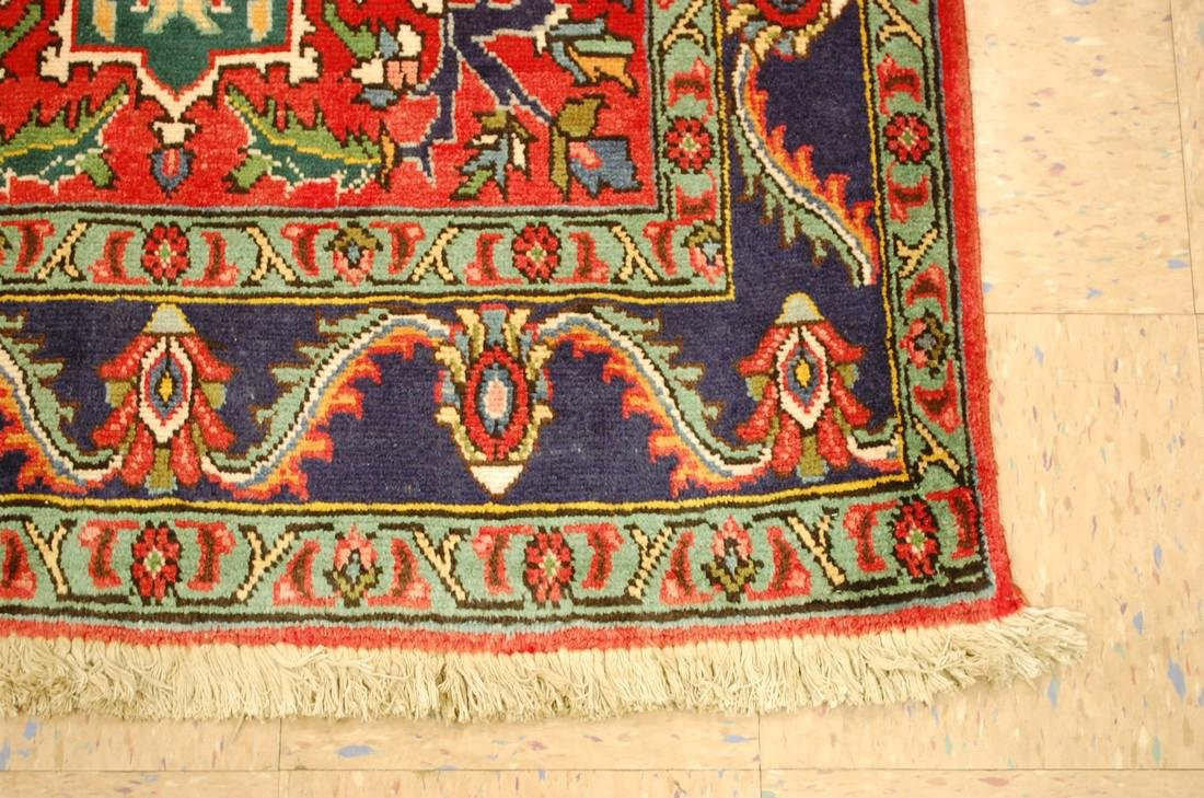 Detailed Persian Tabriz Rug 3.8x8.6 - 2
