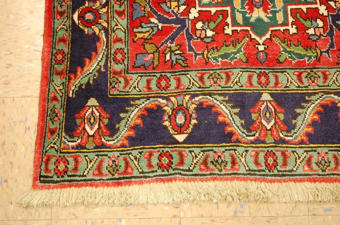 Detailed Persian Tabriz Rug 3.8x8.6 - 3