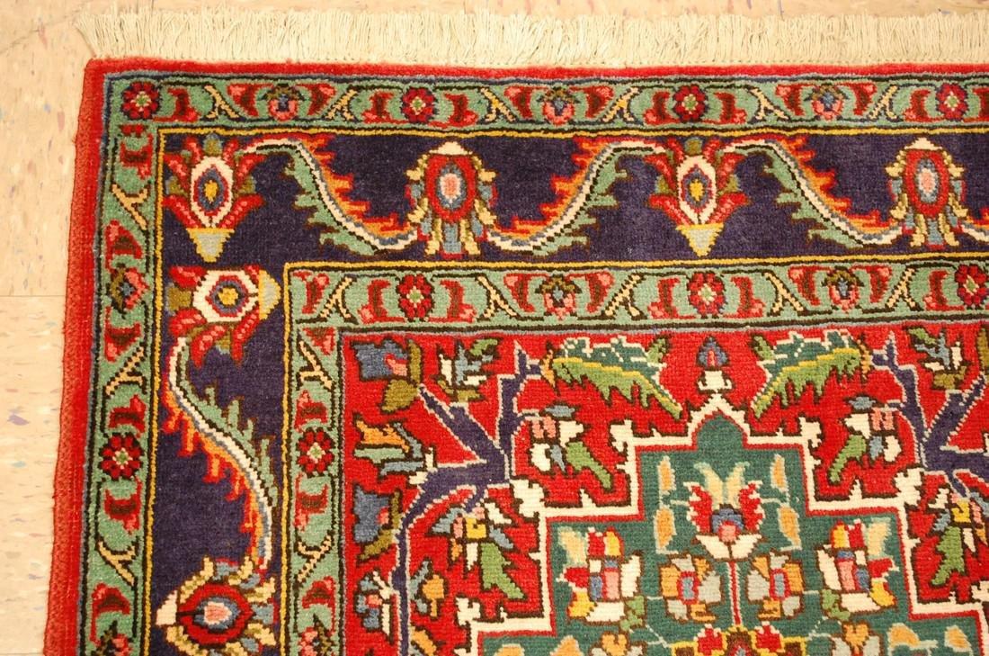 Detailed Persian Tabriz Rug 3.8x8.6 - 4