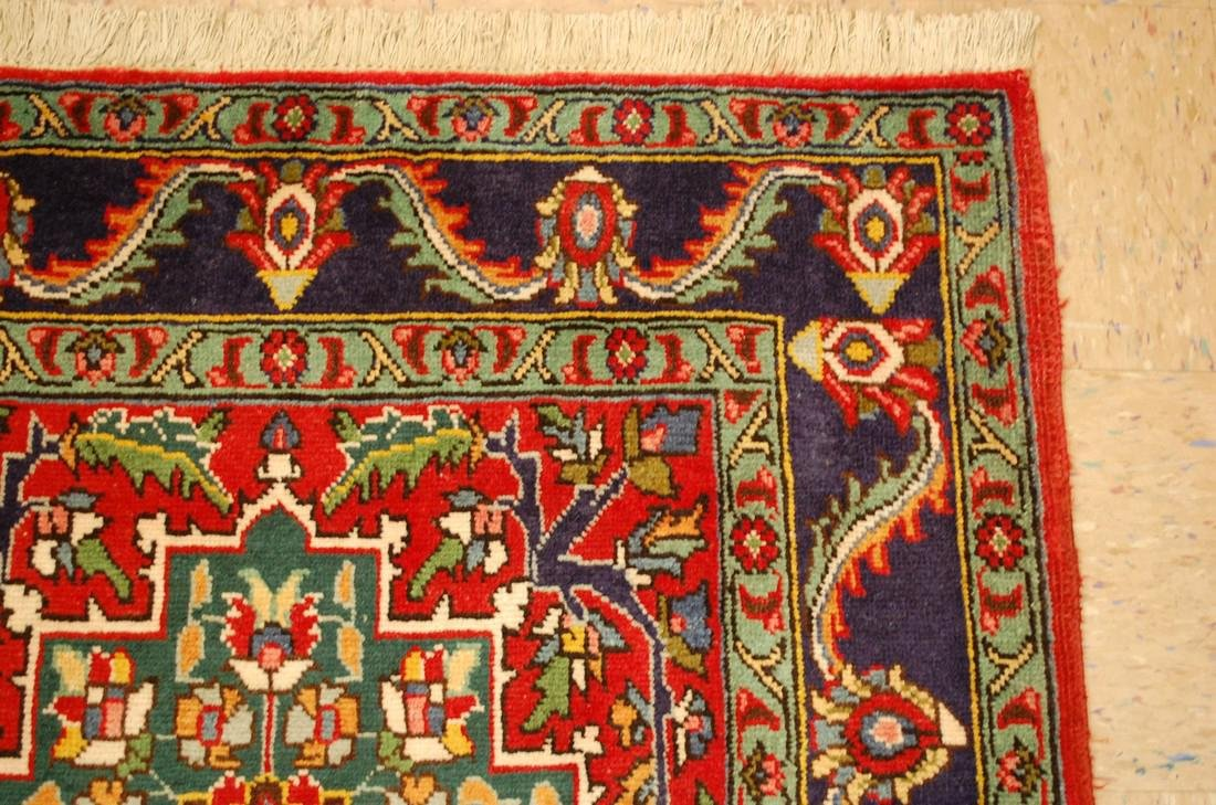 Detailed Persian Tabriz Rug 3.8x8.6 - 5