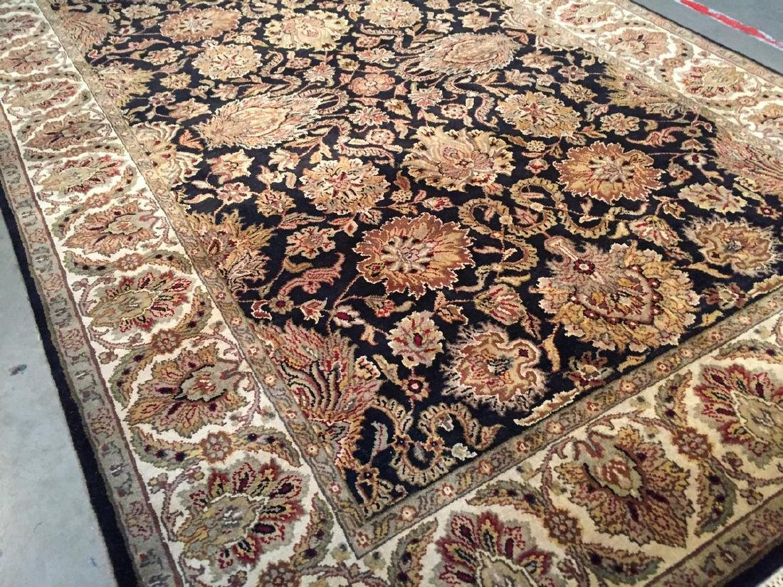 Authentic Hand Knotted Wool Agra Rug 6x9 - 2