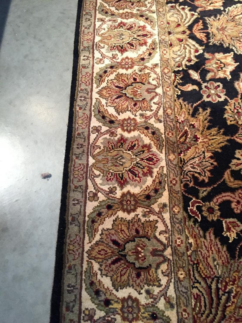 Authentic Hand Knotted Wool Agra Rug 6x9 - 4