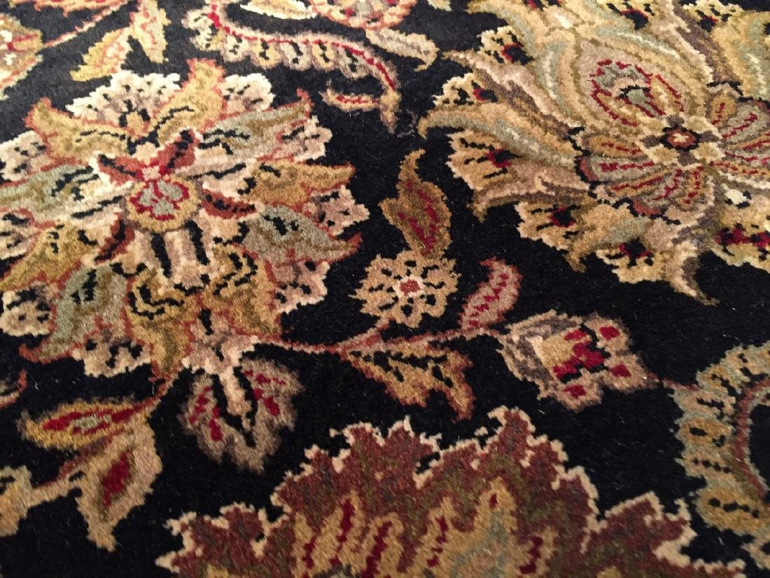 Authentic Hand Knotted Wool Agra Rug 6x9 - 5