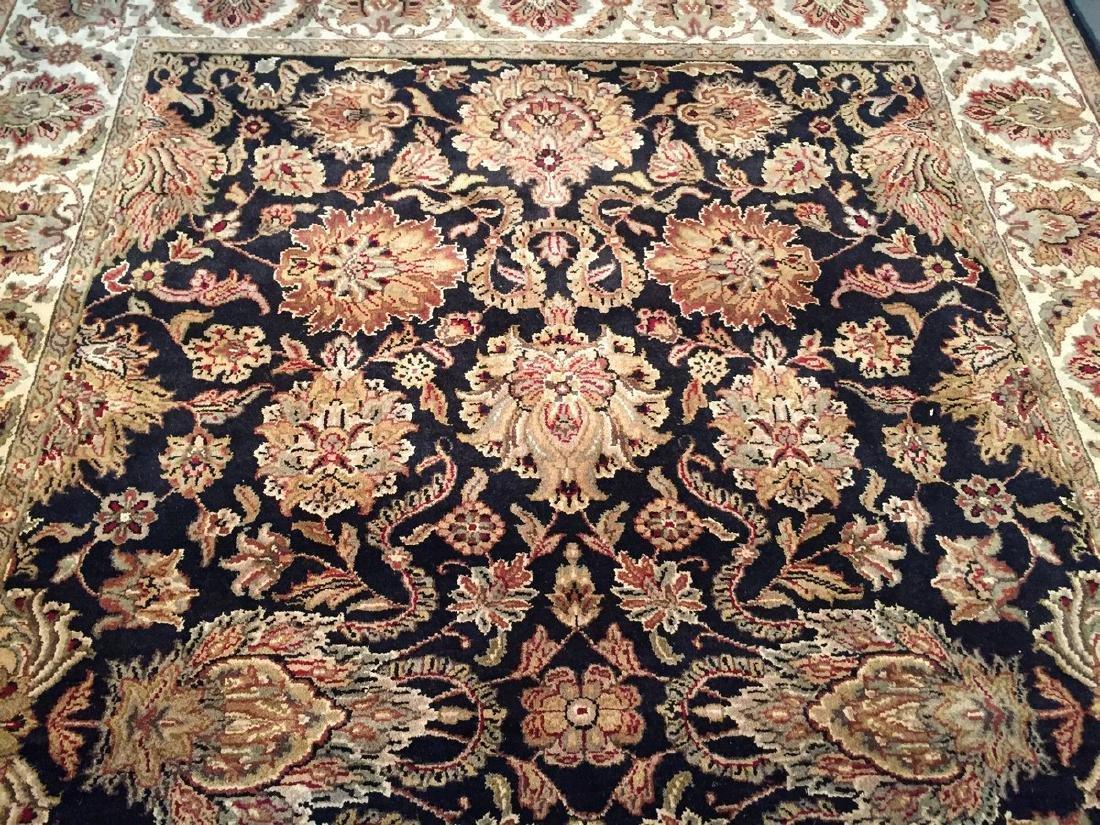 Authentic Hand Knotted Wool Agra Rug 6x9 - 7
