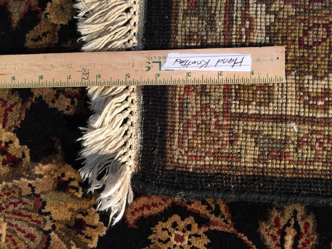 Authentic Hand Knotted Wool Agra Rug 6x9 - 8