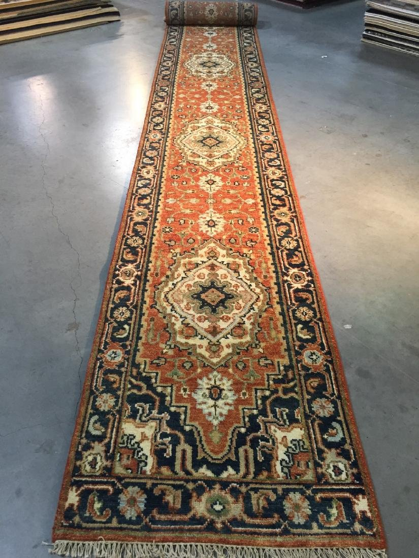 Classic Serapi Design Long Runner Rug 2.6x23