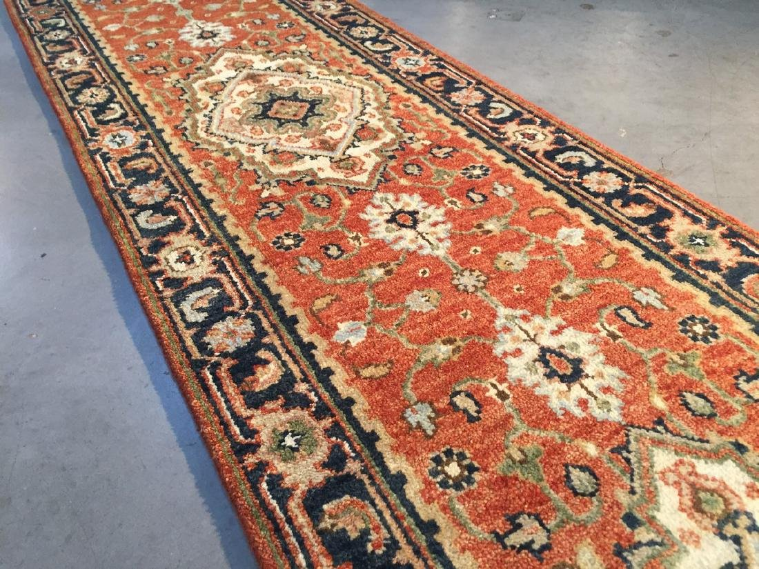 Classic Serapi Design Long Runner Rug 2.6x23 - 3