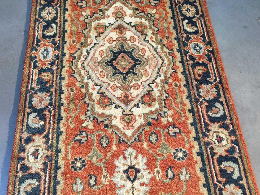 Classic Serapi Design Long Runner Rug 2.6x23 - 4