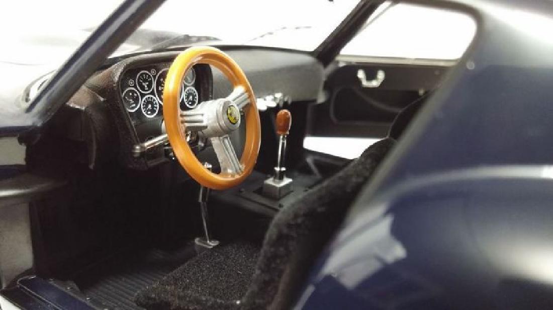 Hot Wheels Elite Scale 1:18 Ferrari 250 GTO Blue - 4