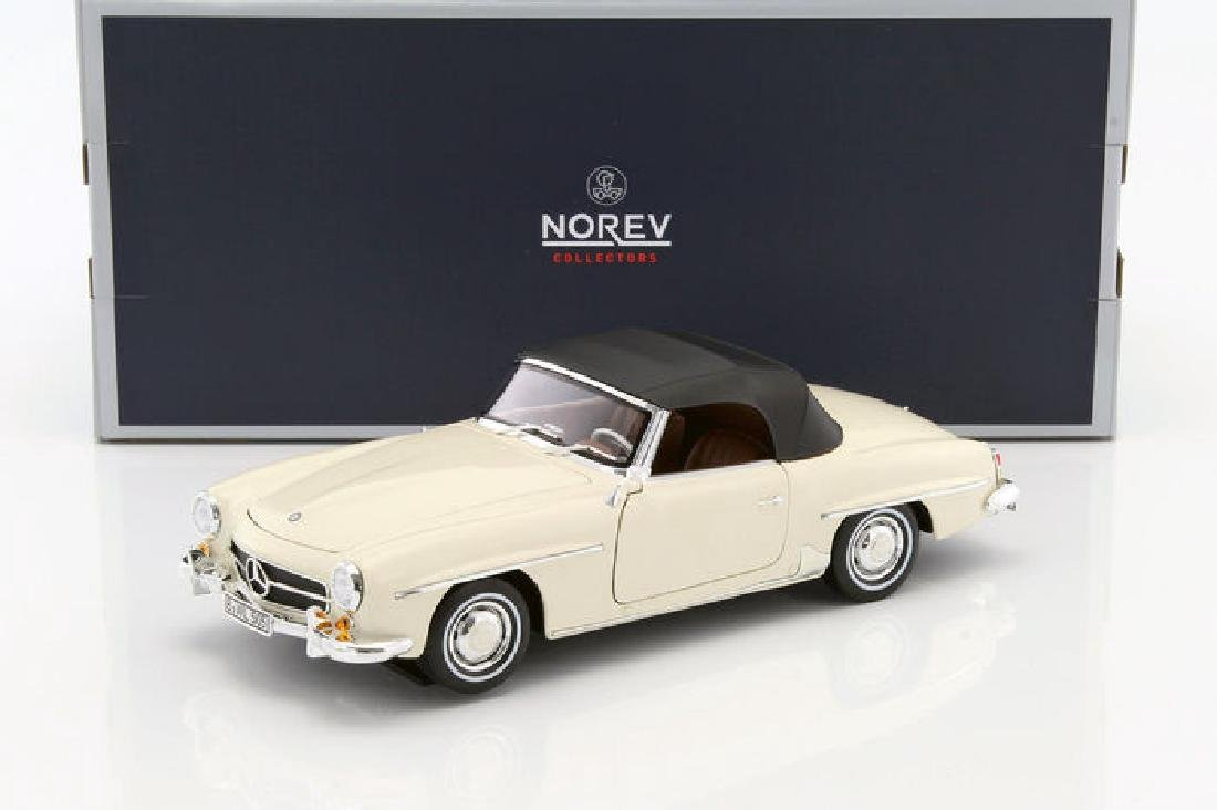 Norev Scale 1:18 Mercedes-Benz 190 SL 1957