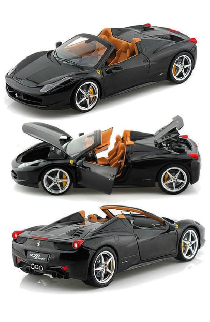 Hot Wheels Elite Scale 1:18 Ferrari 458 Spider - 10