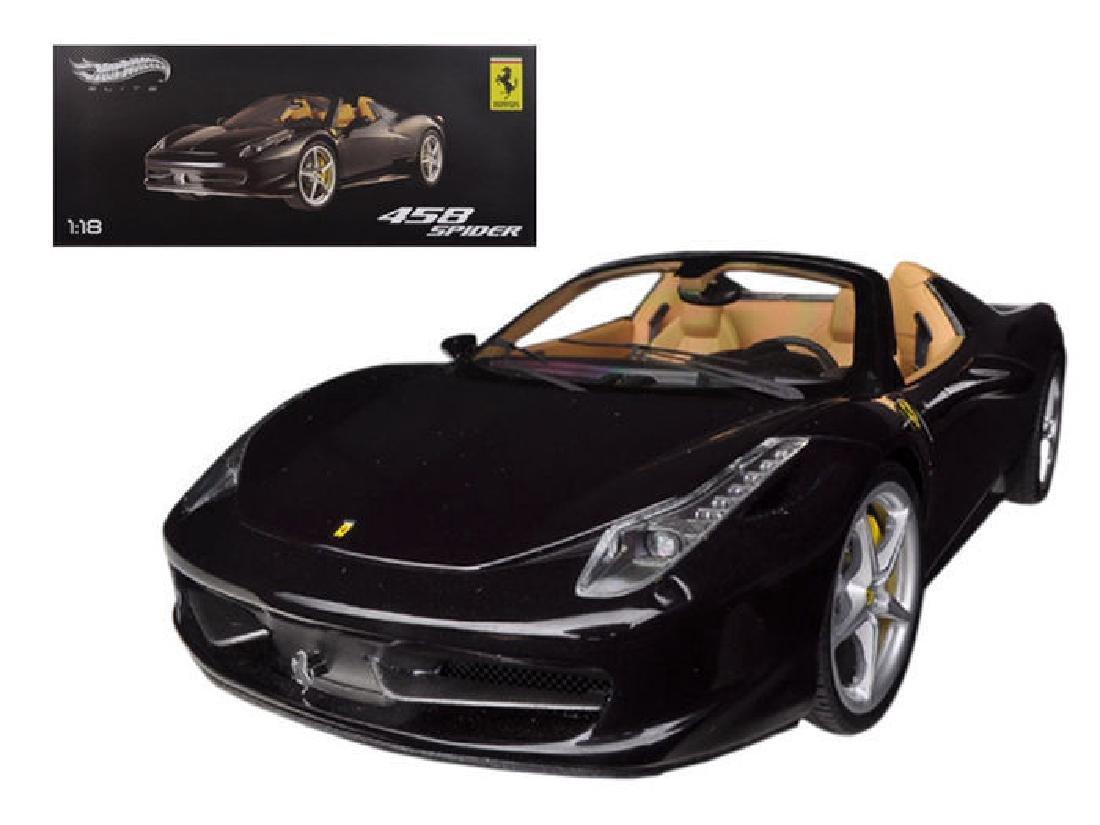 Hot Wheels Elite Scale 1:18 Ferrari 458 Spider - 3