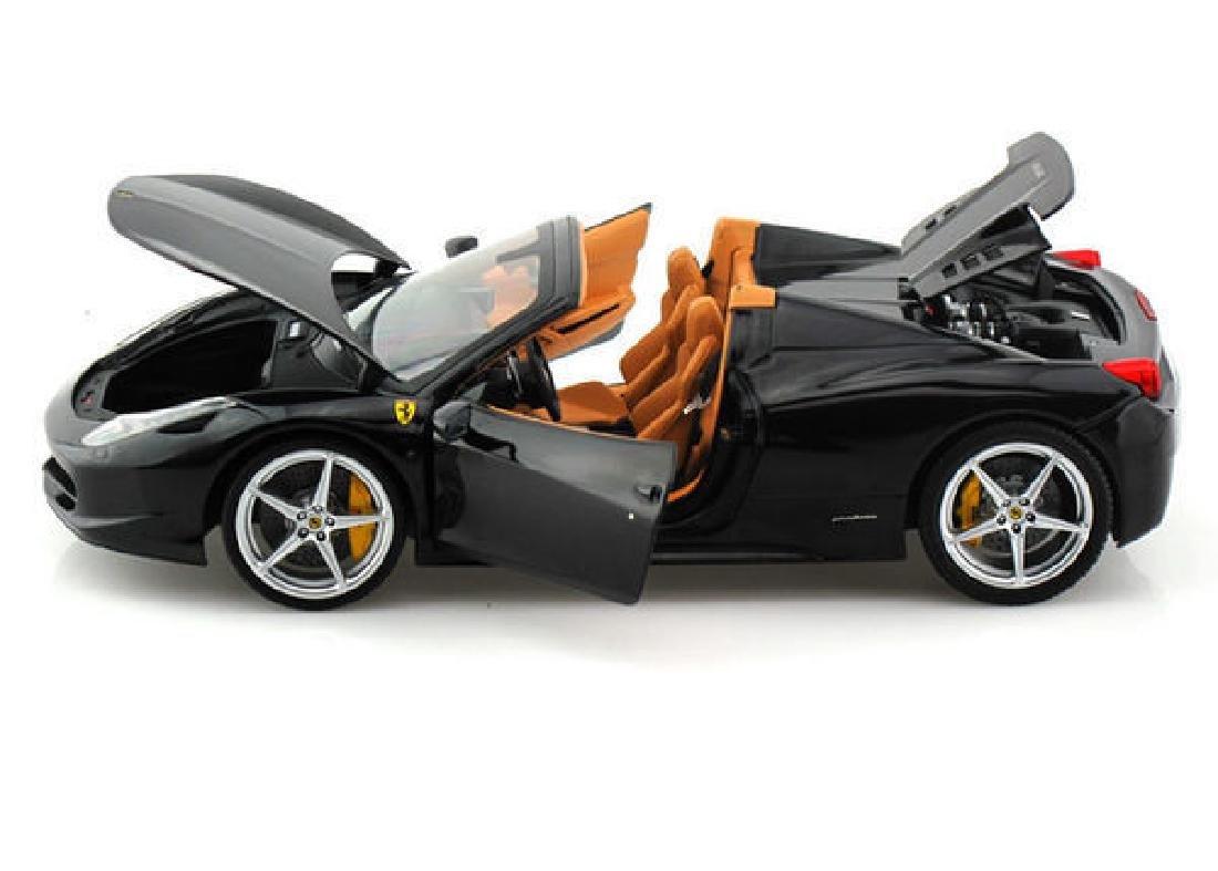 Hot Wheels Elite Scale 1:18 Ferrari 458 Spider - 6
