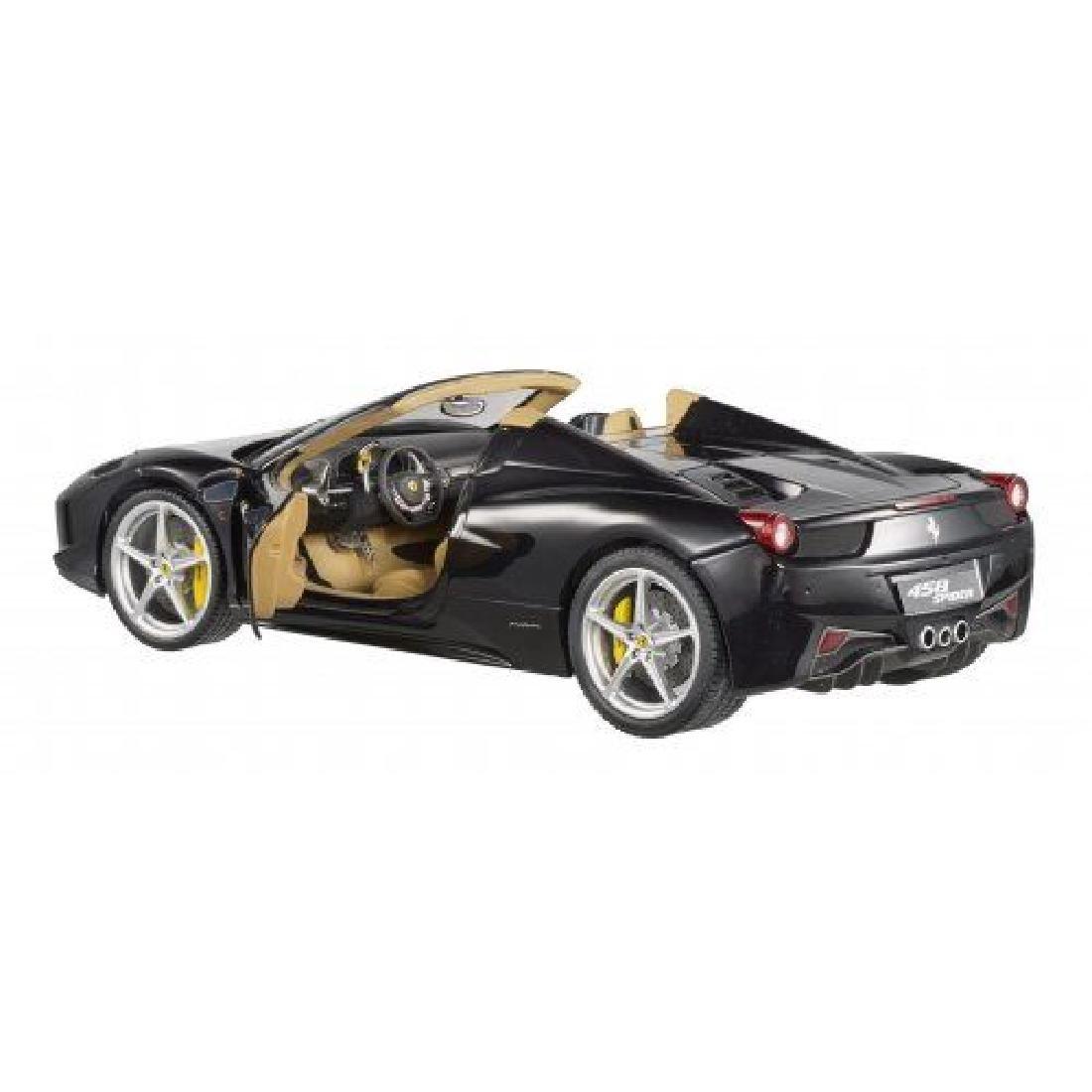 Hot Wheels Elite Scale 1:18 Ferrari 458 Spider - 7