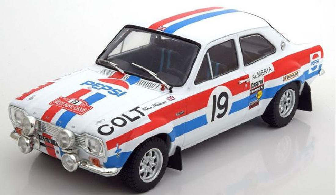 Triple 9 Collection Scale 1:18 Ford Escort MK1 19 Rally - 4