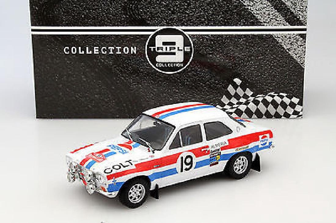 Triple 9 Collection Scale 1:18 Ford Escort MK1 19 Rally - 7