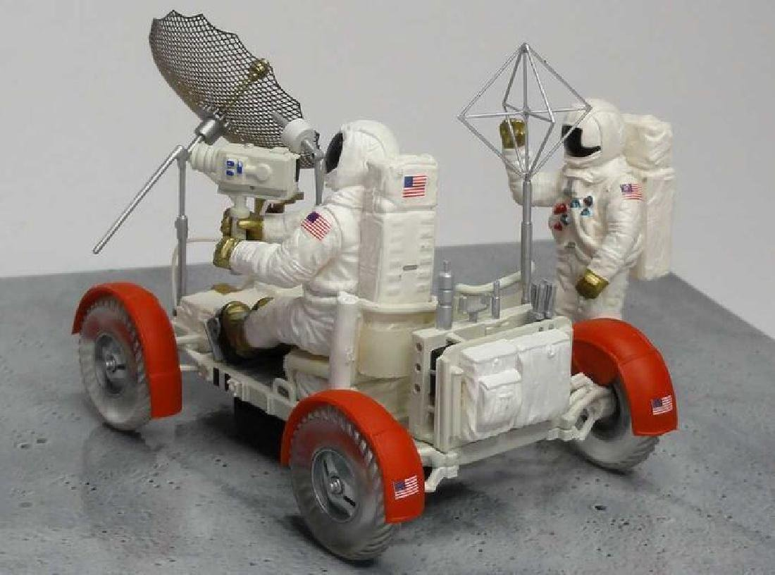 Minichamps Scale 1:43 LRV Moon Car Apollo 15 1971 - 4