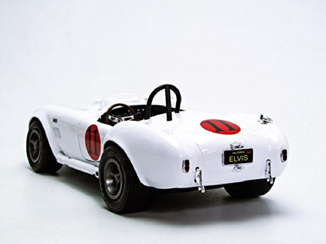 Spinout Elvis Presley Auto World Scale 1:18 1965 Shelby - 7
