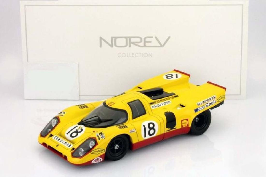 Norev Scale 1:18 Porsche 917K #18 24h Le Mans 1970 - 2