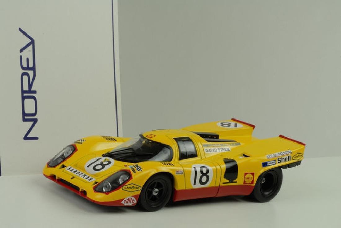 Norev Scale 1:18 Porsche 917K #18 24h Le Mans 1970 - 4