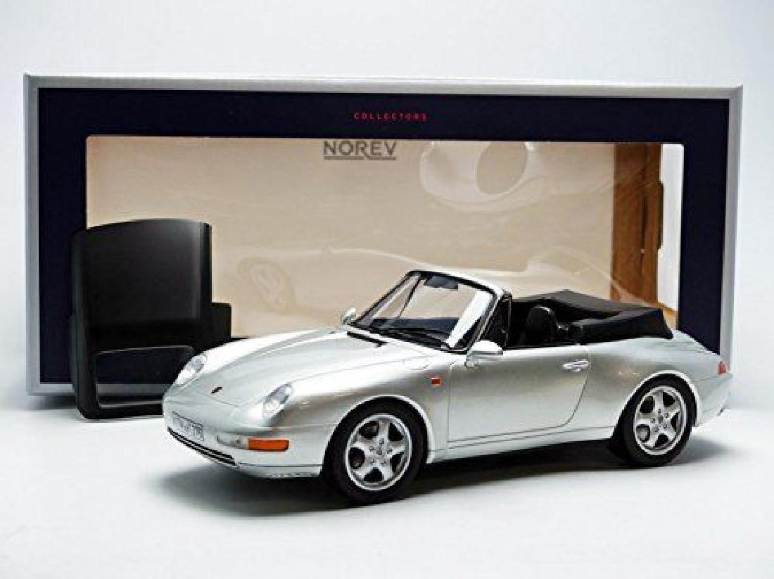 Norev Scale 1:18 Porsche 911 Carrera Cabriolet 1993
