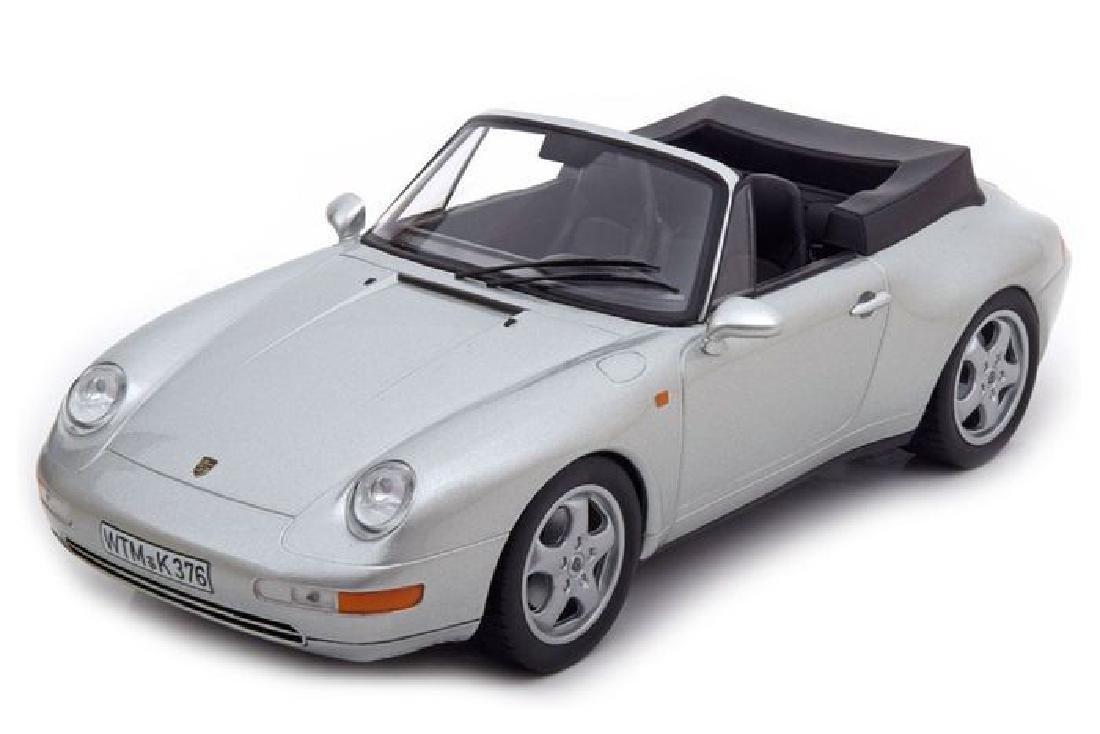 Norev Scale 1:18 Porsche 911 Carrera Cabriolet 1993 - 2