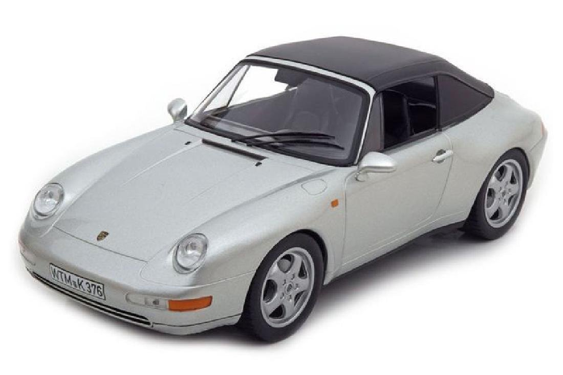 Norev Scale 1:18 Porsche 911 Carrera Cabriolet 1993 - 3
