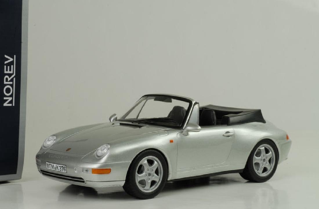 Norev Scale 1:18 Porsche 911 Carrera Cabriolet 1993 - 5