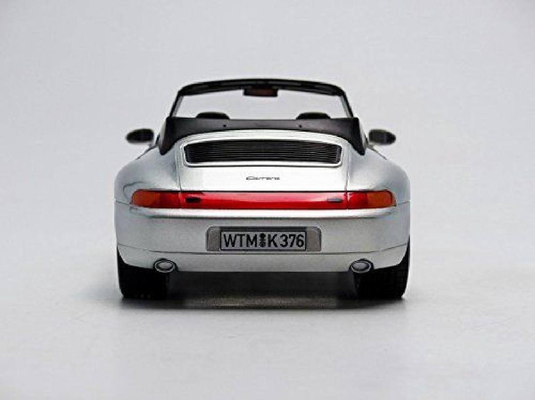 Norev Scale 1:18 Porsche 911 Carrera Cabriolet 1993 - 8
