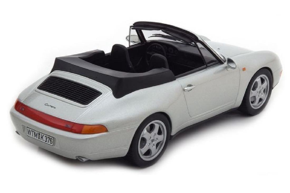 Norev Scale 1:18 Porsche 911 Carrera Cabriolet 1993 - 9