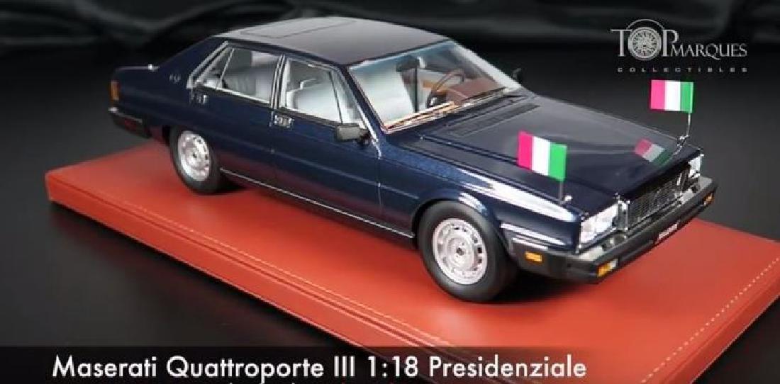 Top Marques Scale 1:18 Maserati Quattroporte - 2