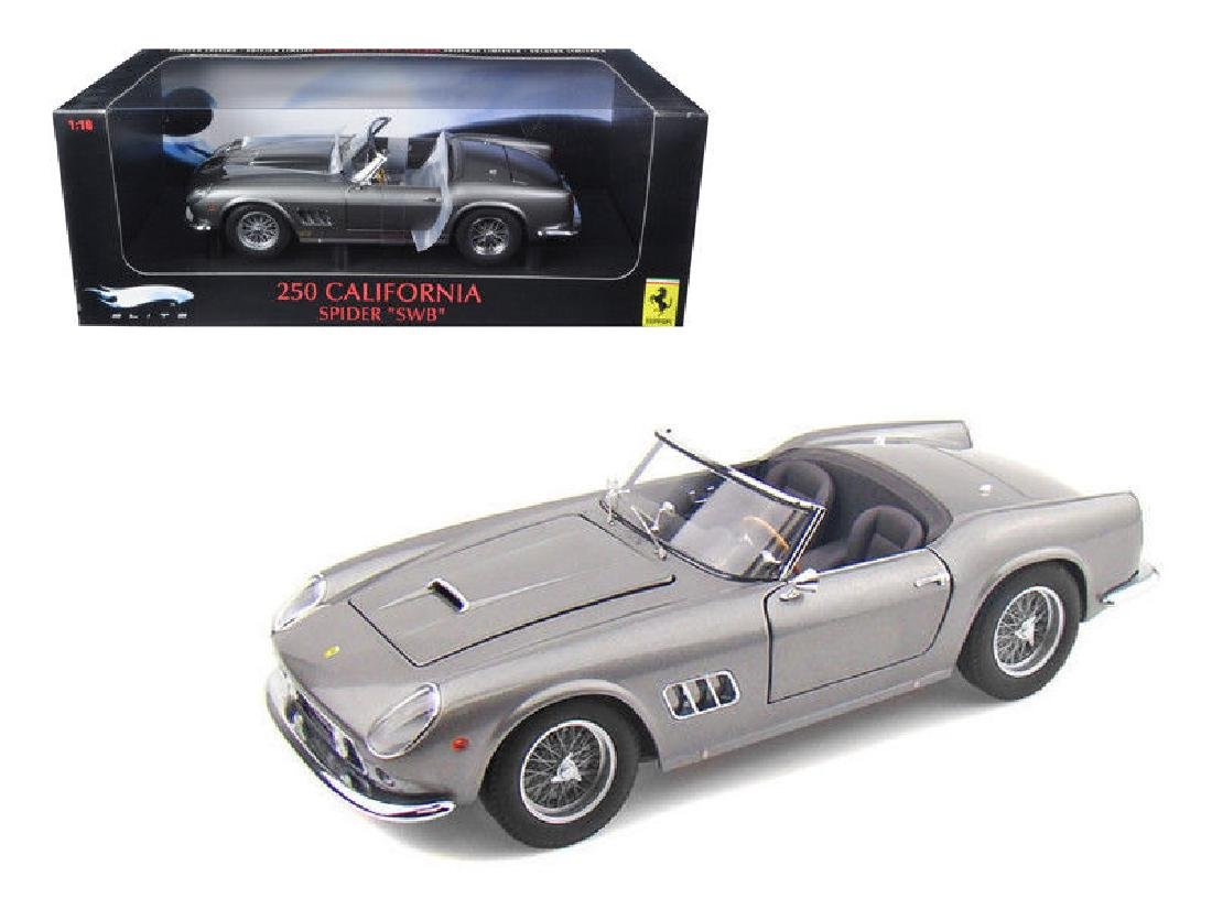 Hot Wheels Elite Scale 1:18 Ferrari 250 Cali Spider - 8
