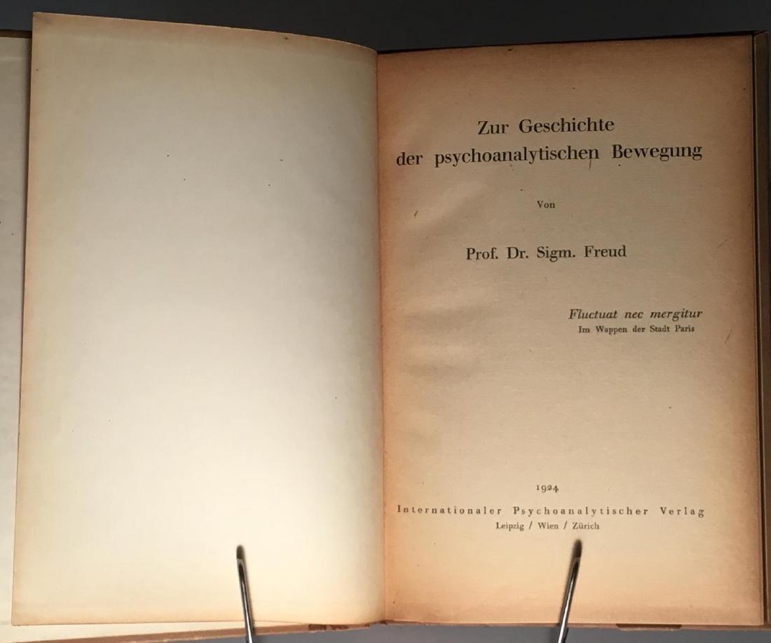 Zur Geschichte der psychoanalytischen Sigmund Freud - 3