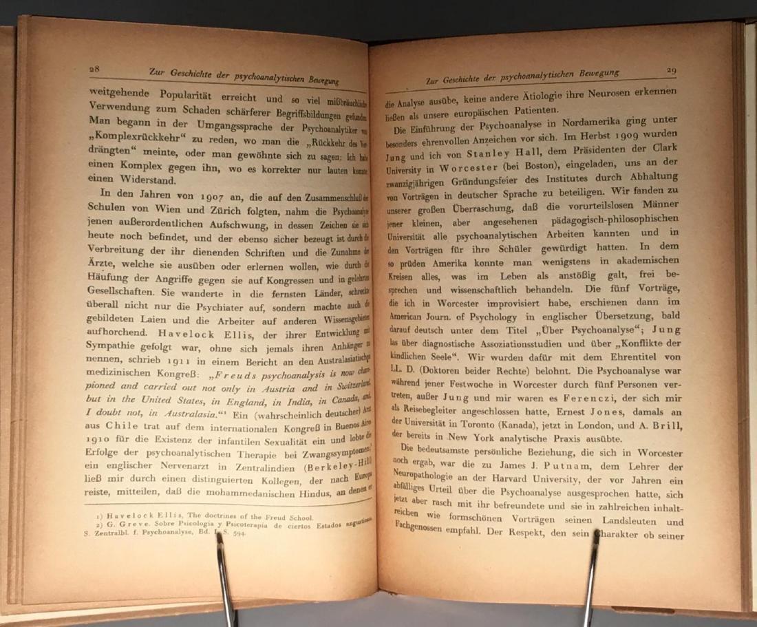 Zur Geschichte der psychoanalytischen Sigmund Freud - 5