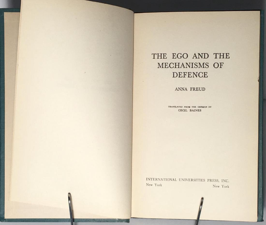 The Ego and the Mechanisms of Defense Anna Freud - 3