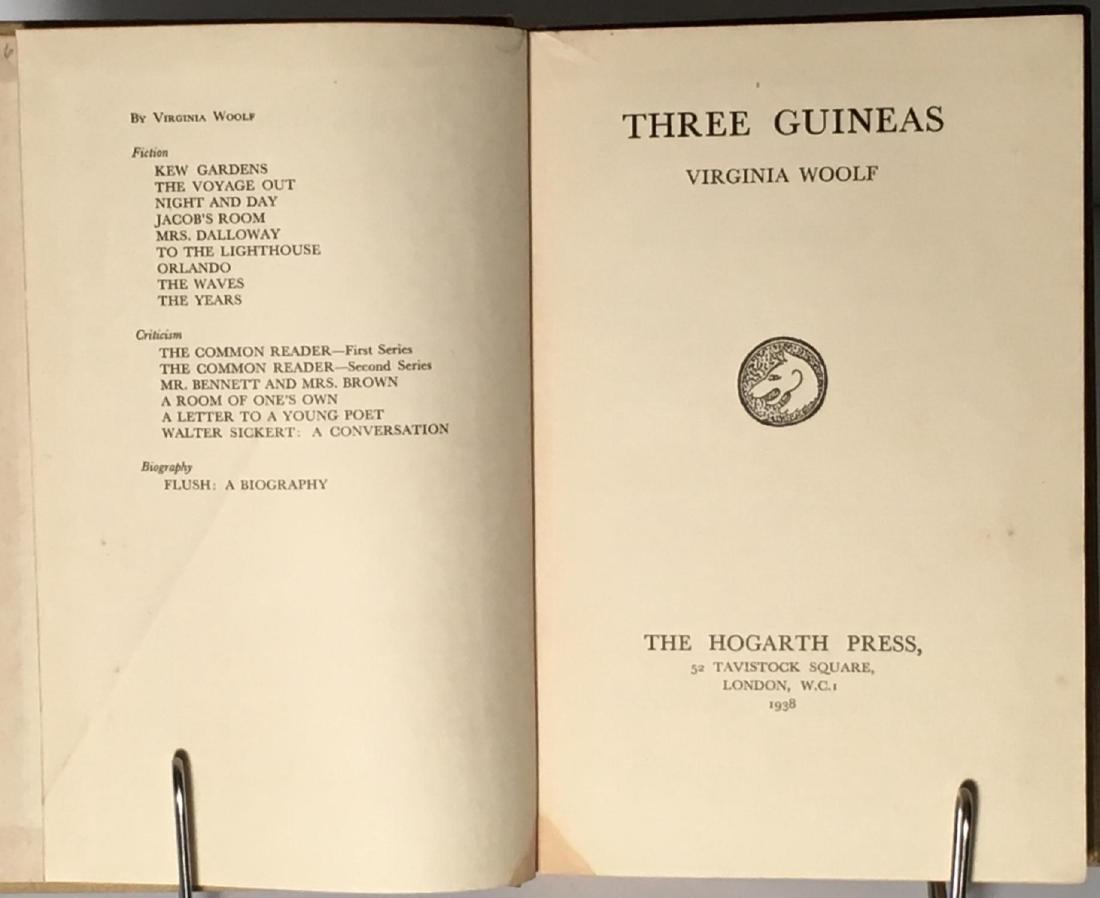 Three Guineas Virginia Woolf - 2
