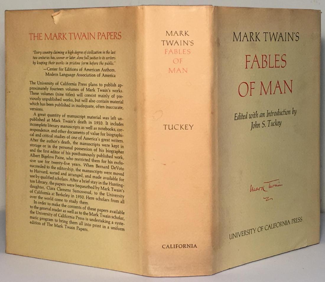 Fables of Man Mark Twain