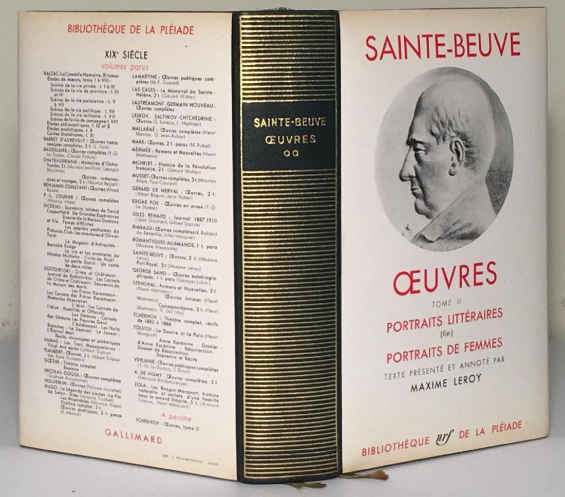 Oeuvres Saint Beuve - 3