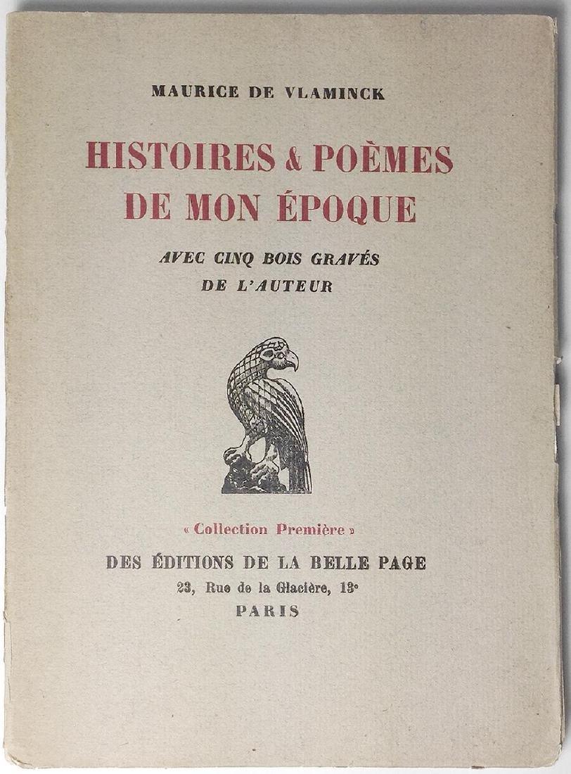 Histoires & Poèmes de Mon Époque Maurice de Vlaminck - 2