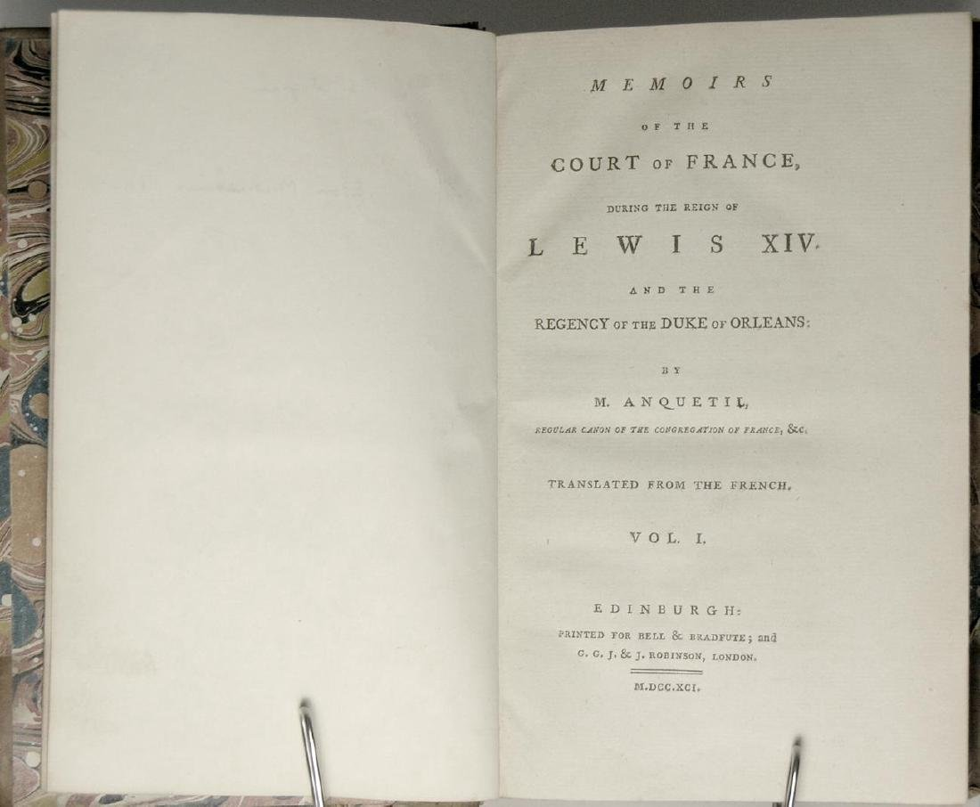 Memoirs of Court of France During Reign Lewis XIV - 3