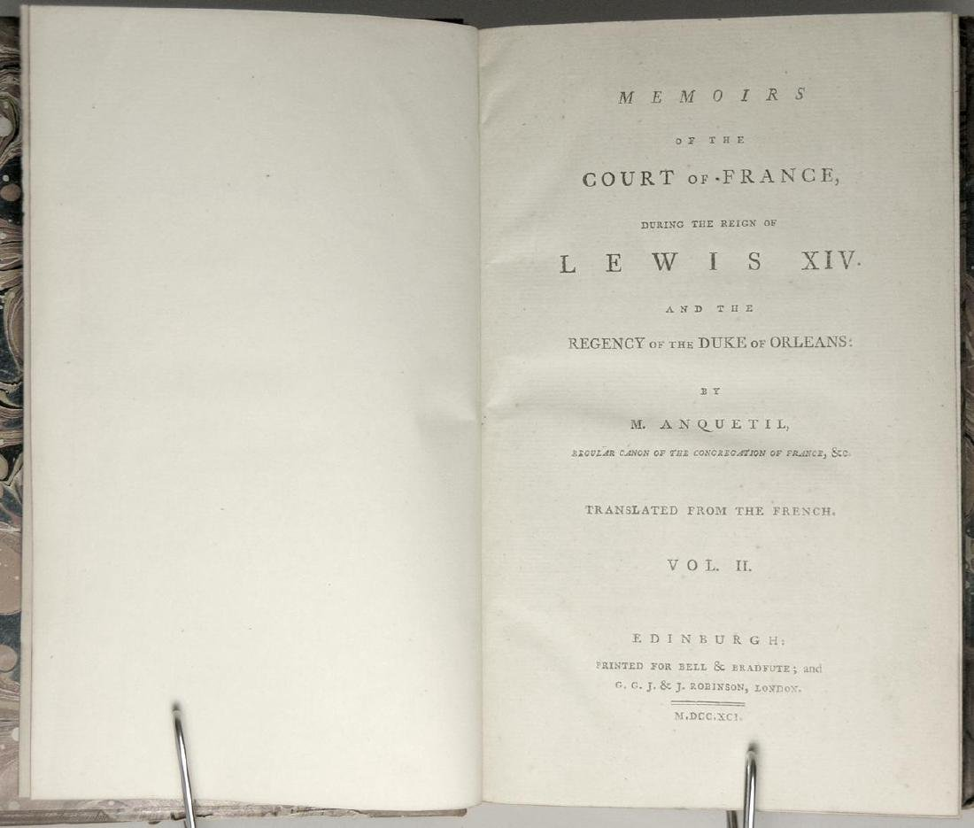 Memoirs of Court of France During Reign Lewis XIV - 5