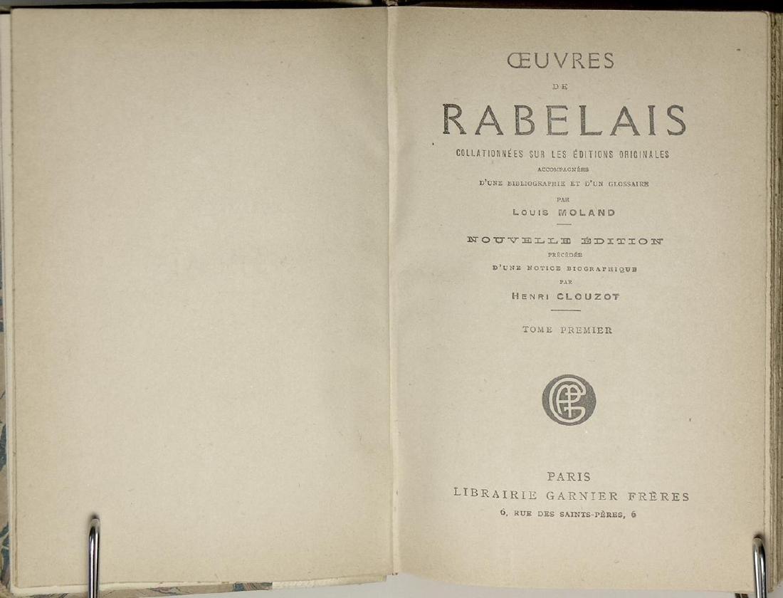 Oeuvres de Rabelais Rabelais - 3