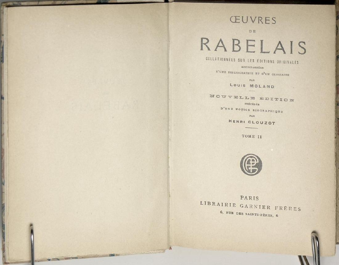 Oeuvres de Rabelais Rabelais - 5