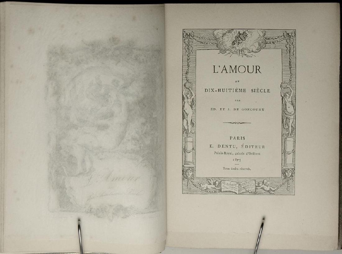 L'Amour au Dix-Huitième Siècle J. de Goncourt - 3