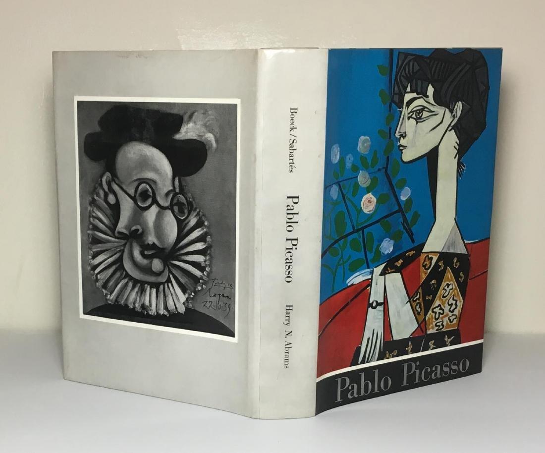 Picasso Wilhelm Boeck and Jaime Sabartés