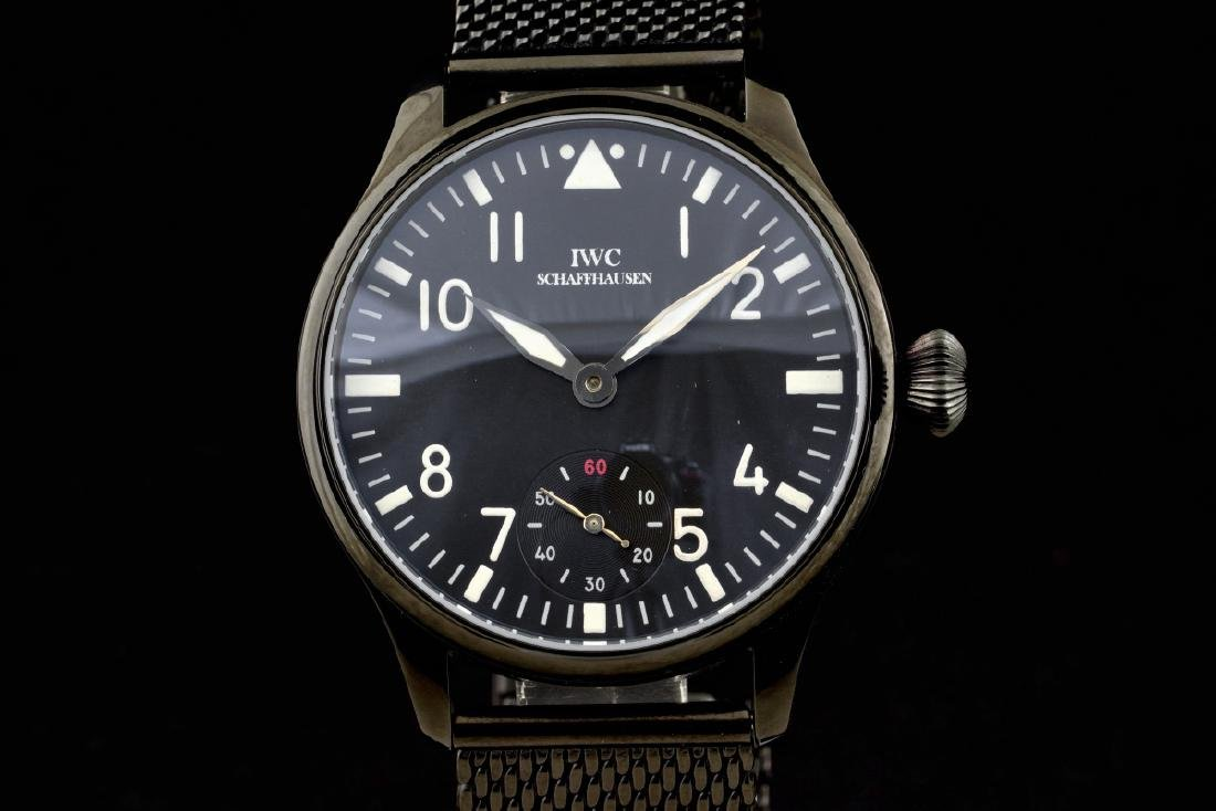Unique Military Style IWC Schaffhausen cal 74 Watch