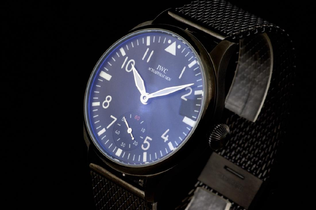 Unique Military Style IWC Schaffhausen cal 74 Watch - 2