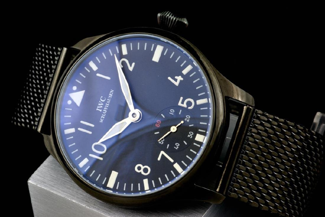 Unique Military Style IWC Schaffhausen cal 74 Watch - 4