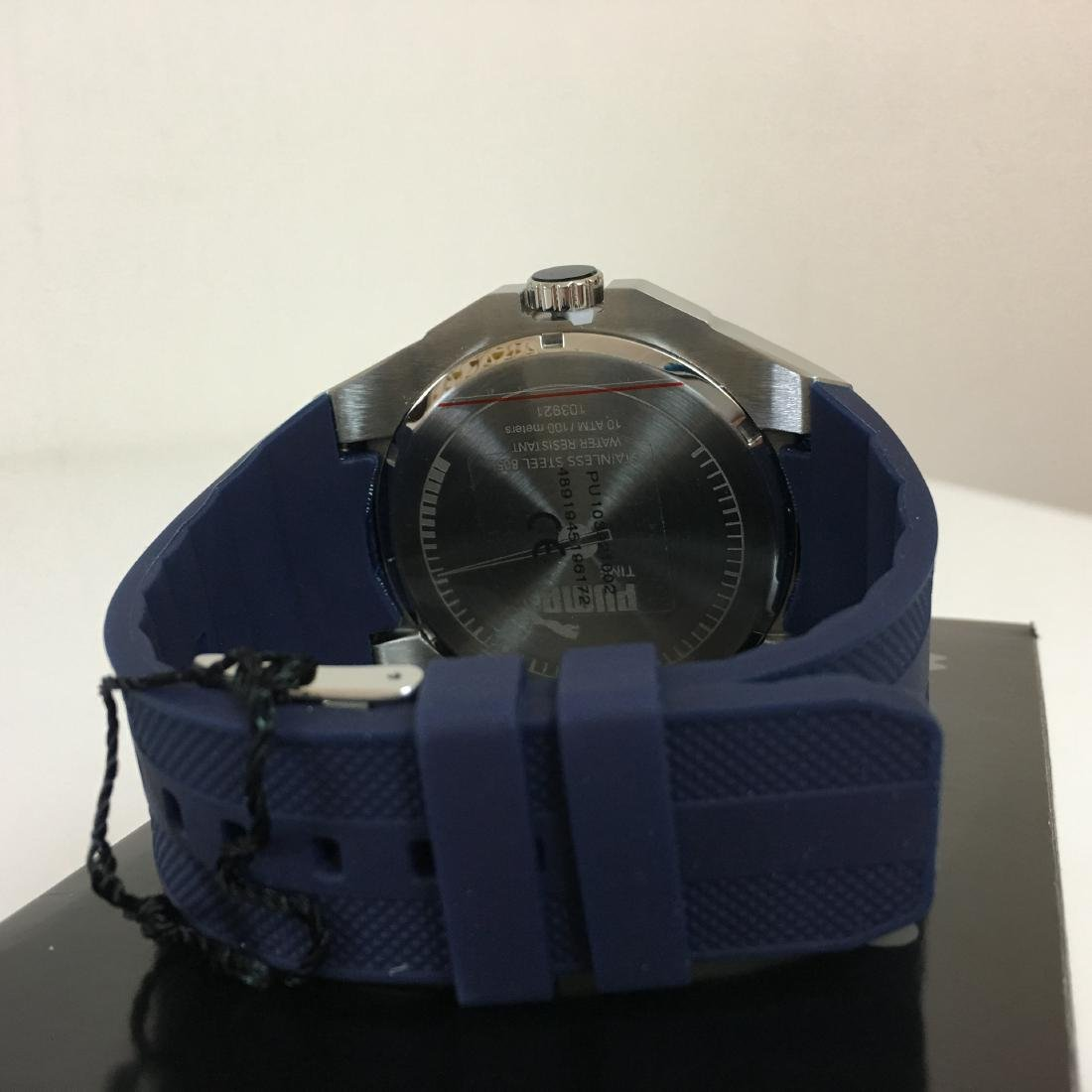 PUMA Iconic Blue Silicone Display Watch With Box - 6