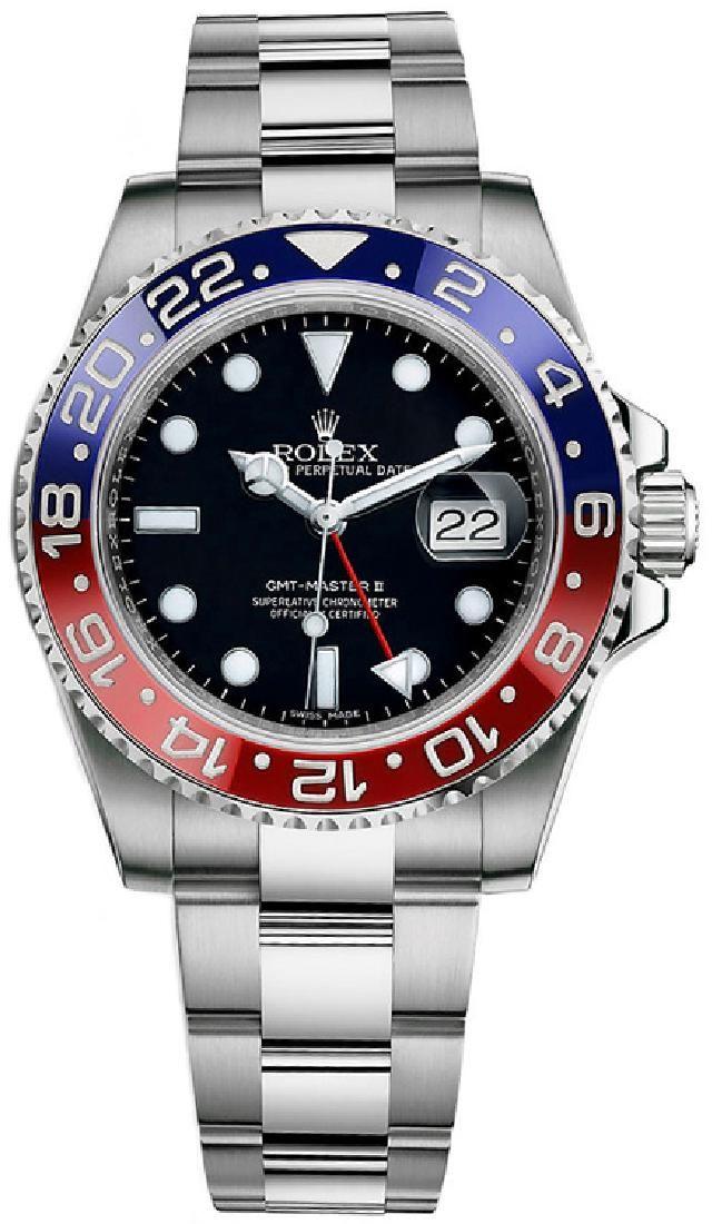 Rolex GMT-Master II Custom Ceramic Blue/Red Watch